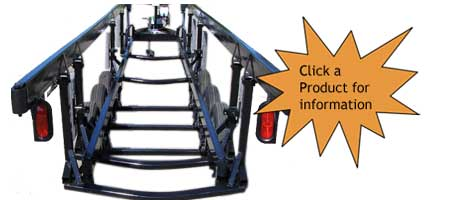 Center Lift Trailers for Triple Tube Trailers