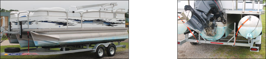pontoon trailers for saltwater