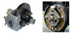 brakes for saltwater pontoon trailer
