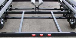pontoon trailer frame