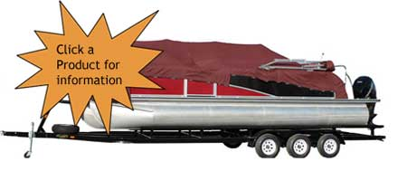 Triple Axle Pontoon Trailers