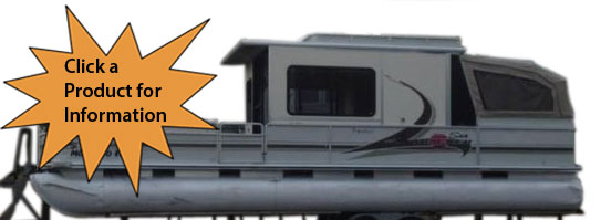 Specialty and Large Pontoon Boat Trailers